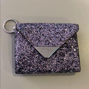 Rebecca minkoff glitter key case new